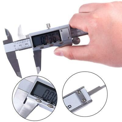 Stainless Steel Electronic Digital LCD Vernier Caliper Micrometer Guage
