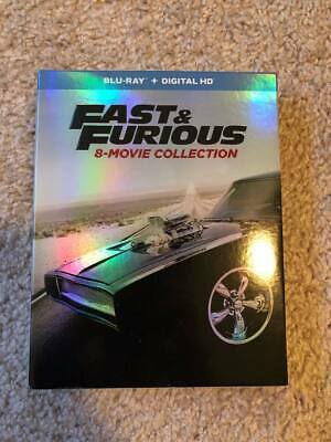 Fast and Furious 8-Movie Collection Blu-Ray