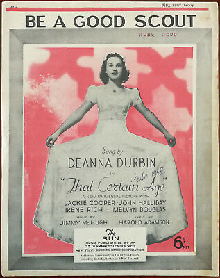 From film That Certain Age DEANNA DURBIN   40/'s Sheet Music  ROMEO AND JULIET