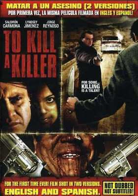 To Kill a Killer (English and Spanish Versions) NEW DVD