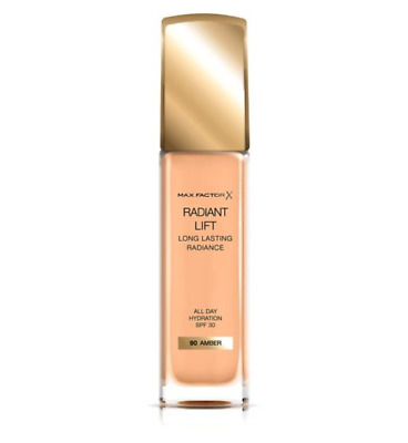 Max Factor  Radiant Lift Foundation, SPF 30, 90 Amber