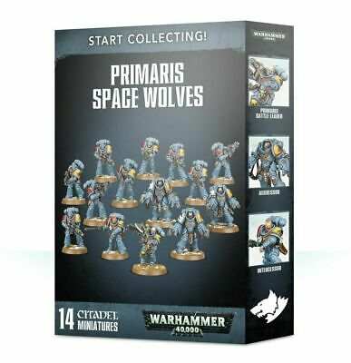 Games Workshop - Warhammer 40k - Start Collecting Primaris Space Wolves