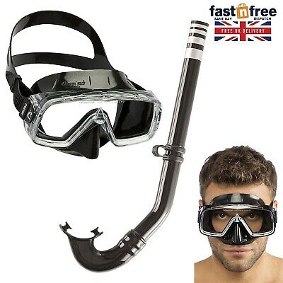 Cressi Sirena Mask and Snorkel Adult Diving Set High Quality Swimming Equipment