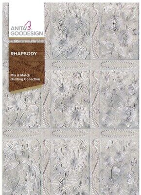 Anita Goodesign - Rhapsody - Quilting Collection -Machine Embroidery Designs Usb