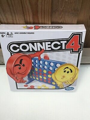 Hasbro Connect4 Game Classic Grid Board Game Brand New.