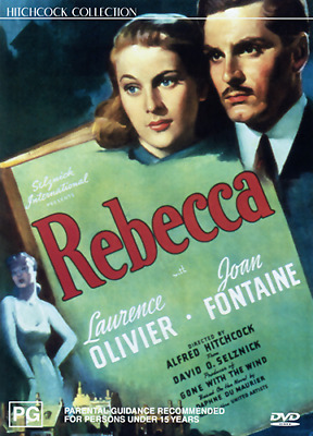 Laurence Olivier Joan Fontaine REBECCA - ALFRED HITCHCOCK DVD (NEW & SEALED)