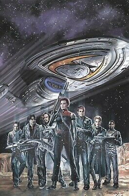 Star Trek Voyager: Mirrors and Smoke #1 Cover A IDW PREORDER - SHIPS 30/10/19