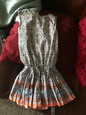 Girls Mayoral Stylish Playsuit Age 6 Mint Condition