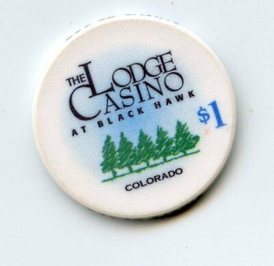 1.00 Chip from the Lodge Casino Black Hawk Colorado