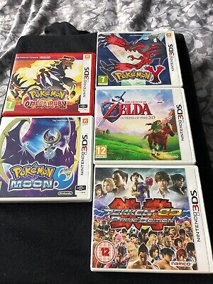 Nintendo 3ds Game Cases, Pokemon, Zelda, Cases Only No Games, Replacements