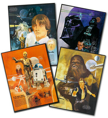 "BURGER KING BURGER CHEF STAR WARS POSTERS (22""x28"") - Choose ONE"