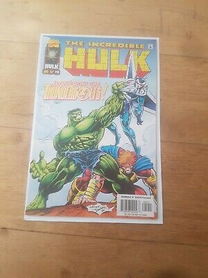 INCREDIBLE HULK 449 - 1st APPEARANCE THUNDERBOLTS MOVIE COMING MODERN AGE COMICS
