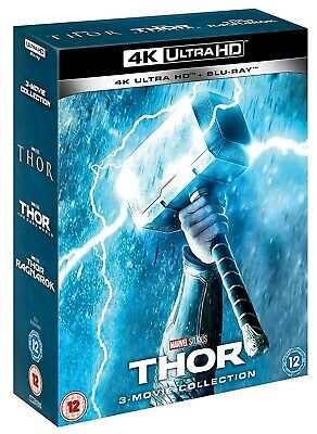 Thor 3 Movie Collection (Bluray 4K) Includes 2D Bluray