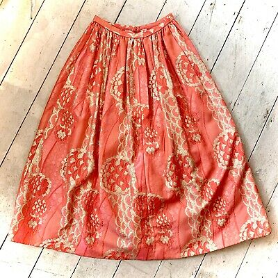 Vintage 1960's Brocade Evening Skirt Size 12