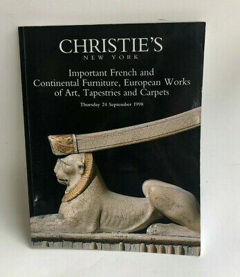 Christie's Important French & Continental Furniture European Works & Tapestries