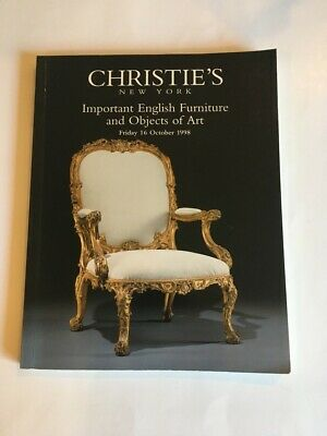 Christie's Important English Furniture and Objects of Art 1998