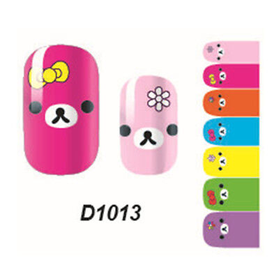 Lovely Girl's 'Art Decals Nail Wrap Sticker Adhesive Polish Foil Decoration NBTS