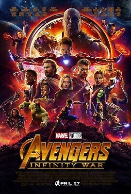 "The Avengers ( 12"" x 18"") Movie Collector's Poster Print  MARVEL"