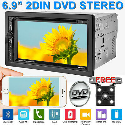 Sony Lens Double Din Car Stereo Radio Android MP5 Player Bluetooth TV Mirror GPS