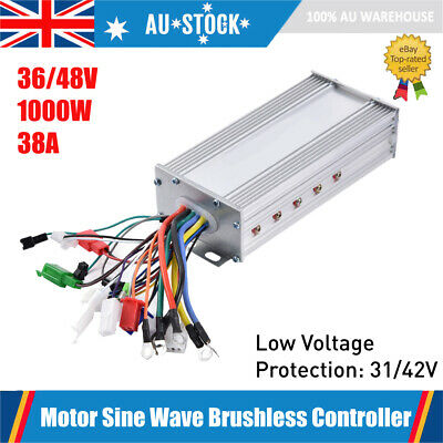 36V 48V 1000W Electric Bicycle E-bike Scooter Brushless Motor Speed Controller