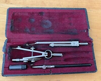 VINTAGE  BIRK GERMANY COMPASS SET Original Box