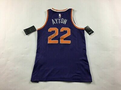 low priced bf937 11ded DEANDRE AYTON #22 Nike Dri-Fit Phoenix Suns NBA Swingman Jersey SZ 32  Purple G10