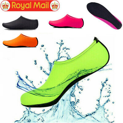 Unisex Water Shoes Aqua Socks Diving Sock Wetsuit Non-slip Swim Beach Sea Kid UK