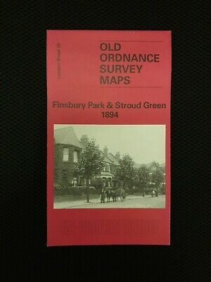 Old Ordnance Survey Map  - Finsbury Park & Stroud Green 1894