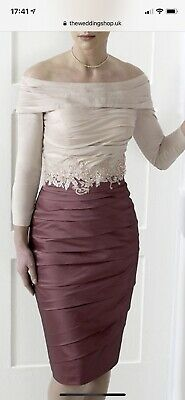 IRRESISTIBLE by VEROMIA Mother of the Bride/Groom/ Dress-Size 14- IR3002  Pink