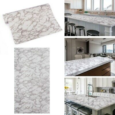 2M Marble Self-adhesive Room Kitchen Wall Stickers Desk Tile Sticker 6.5Ft  Best