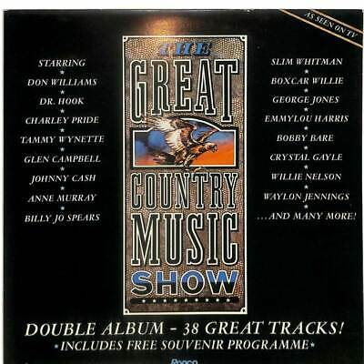 Various - The Great Country Music Show - 2 x LP Gatefold - LP Vinyl Record