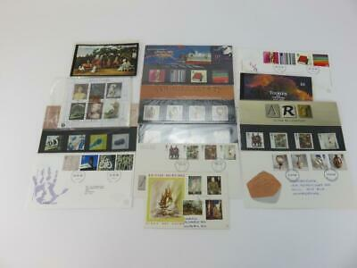 Selection of 13 Official Royal Mail  Postage Stamps Theme Painting and Sculpture