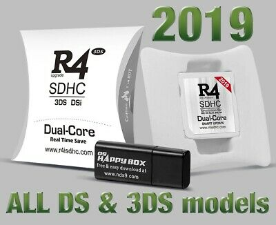 [2019] R4i Dual-Core RTS White Games Cartridge - R4 Card Nintendo DS 3DS 2DS DSi