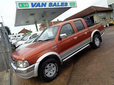 2004 Ford Ranger Xlt 2.5 Turbo Diesel Manual 4X4 Double Cab Pick-Up 97,000 Miles