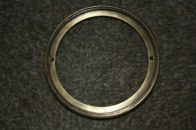 """Vintage French clock face 4"""" hinged bezel for parts/spares/repairs"""