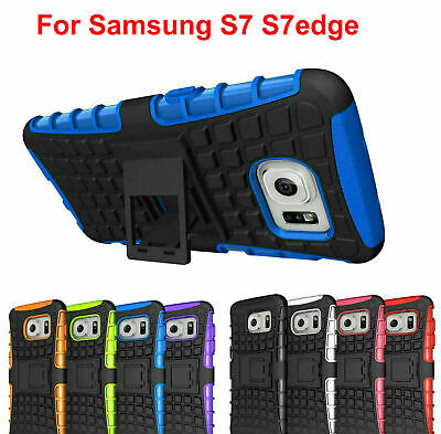 Case Cover For Samsung Galaxy S7 S7 edge Shockproof Hybrid TPU Soft Silicone