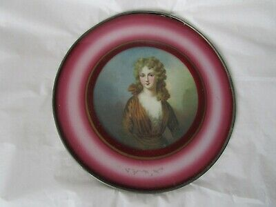Antique Victorian Fancy Cook Stove Chimney Flue Cover Lady