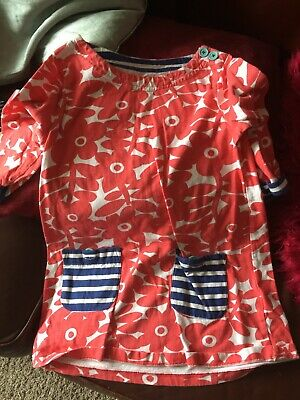 Mini Boden Girls Tunic Top Style Dress Age 7-8 Great Cond