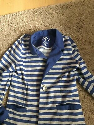 Girls Primark Striped Jacket 9-10 Age