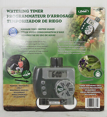 Orbit Water Timer 2-Outlet Valve - With Manual Bypass