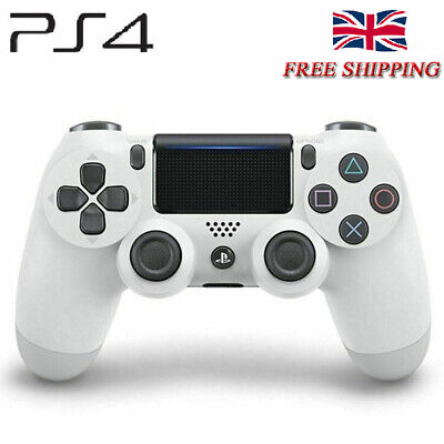 White PS4 DualShock 4 Wireless Bluetooth Game Controller for Sony PlaySation 4 #