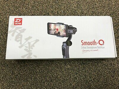 Zhiyun Smooth-Q 3-Axis Handheld Gimbal Stabilizer for Smartphone (Jet Black)
