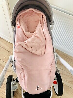 *NEW* Quinny General Footmuff BLUSH for Moodd Buzz Zapp CosyToes