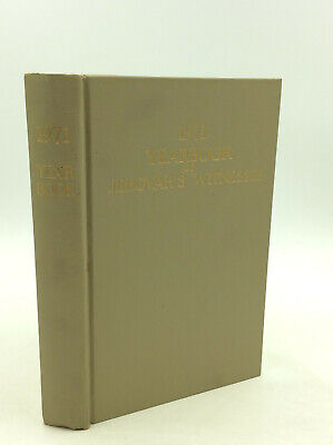 1971 YEARBOOK OF JEHOVAH'S WITNESSES Containing Report for the Service Year 1970