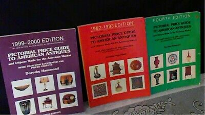 Dorthy Hammond Pictorial Price Guides To American Antiques  set of 3 Books