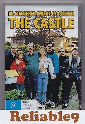 The Castle Re-mastered & Re-plastered Special DVD+3D slip cover R4-1997Australia