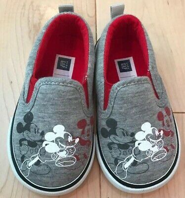 Baby Gap Boys Size 5 Sneakers Disney Mickey Mouse