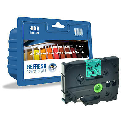 Refresh Cartridges Tze-721 Compatible With Brother Label Printers
