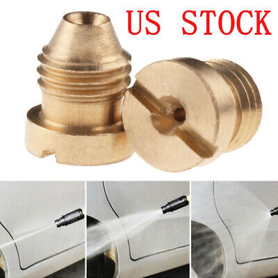 US 1.1mm Foam Cannon Orifice Nozzle Tips Thread For Snow Foam Lance NPT 3000PSI