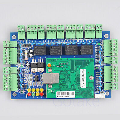 TCP/IP Access Control Network Entry Board Panel LAN For 4 Door RFID Reader WG26
